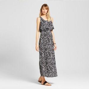 [MERONA] Leaf Print Maxi Dress